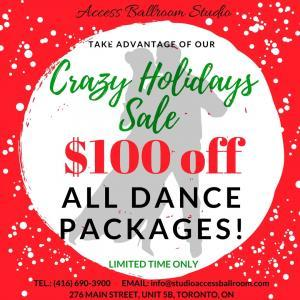 ABS - Dance Lessons & Classes Crazy Holidays Sale Specials  Xmas special Toronto Xmas special Xmas gifts Toronto Xmas gifts Xmas deal winter holidays specials winter holidays sale winter holidays deals wedding first dance Toronto waltz tango swing salsa sale private dance lessons in Toronto private dance lessons private dance classes Toronto private dance classes presents ideas Toronto presents ideas present for loved ones perfect Christmas present perfect Christmas ideas merengue latin and ballroom dancing toronto Hustle group dance lessons Toronto Group dance classes Toronto gift ideas Toronto gift ideas gift for loved ones gift certificate Toronto gift certificate foxtrot discount dancing gift ideas dance school specials dance school deals dance lessons Toronto sale dance lessons sale dance classes toronto Christmas special Toronto Christmas special Christmas gifts Toronto Christmas gifts Christmas deal Cha Cha boxing day sale best gift ideas bachata annual sale Toronto amazing deal 2018 2017 $100 off