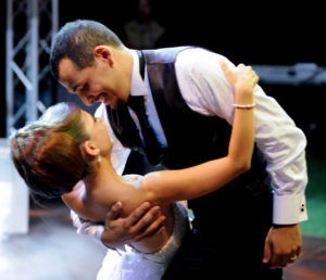 benefits of a Wedding dance, dipping