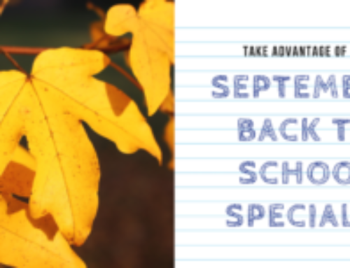 Back to School Specials