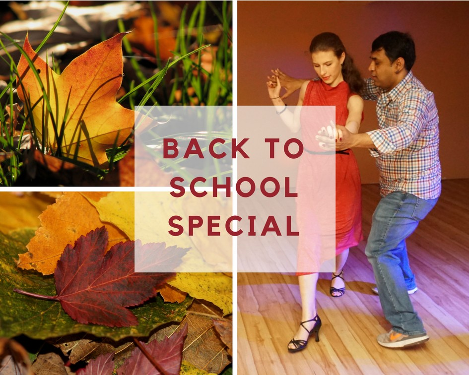 access ballroom studio couple dancing autumn leafs fall deal toronto beaches back to school specials featured image rebates discounts sales toronto