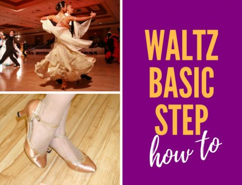 How To Waltz Basic Step