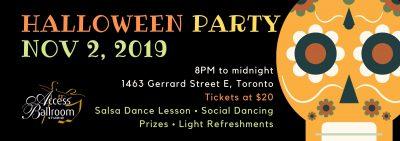 halloween social dance party torontonovember 2, 2019, scull, access ballroom