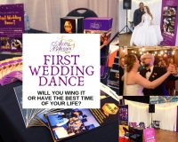 access ballroom wedding package pamphlets booklets mc gil bee first wedding dance canada's bridal show