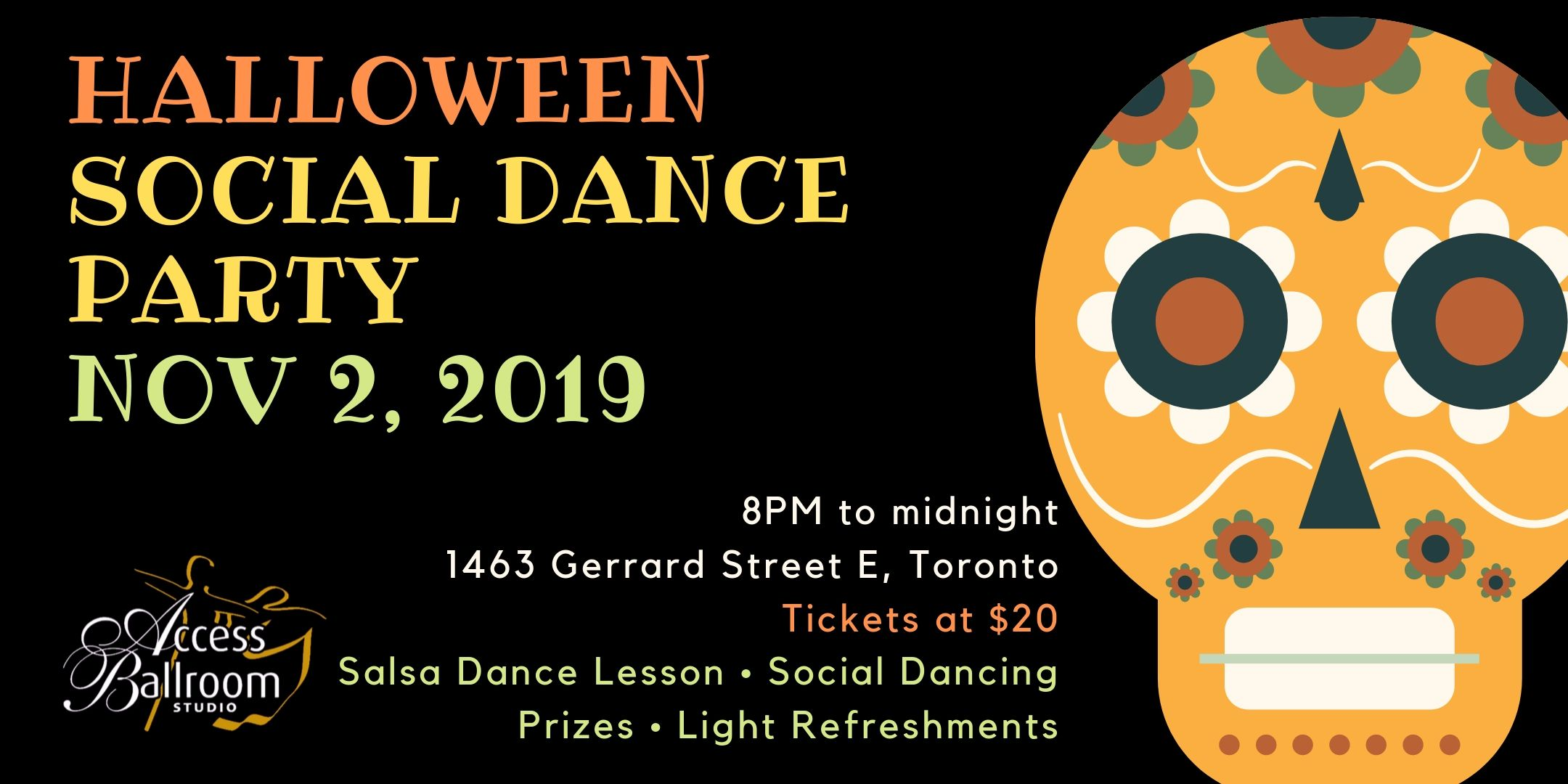 halloween social dance party