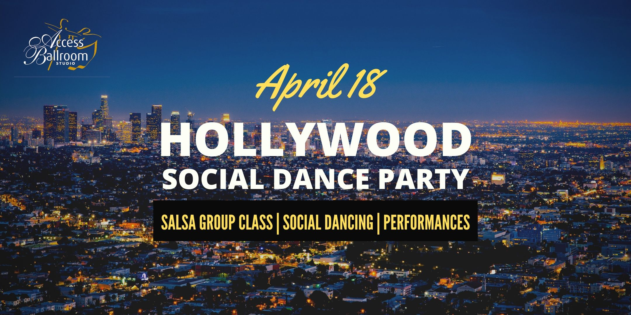 hollywood social dance party access ballroom