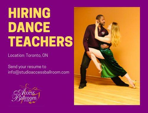 Dance Instructor Job Toronto