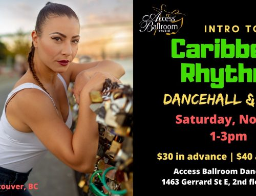 Dance Workshop in Toronto (Intro to Caribbean Rhythms)
