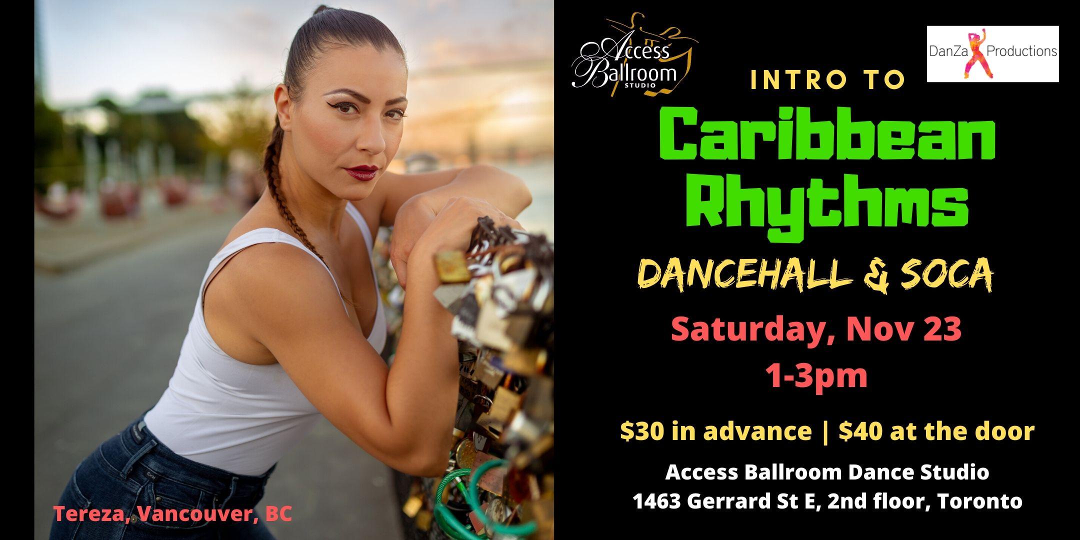 caribbean rhythms dancehall soca reggae calypso